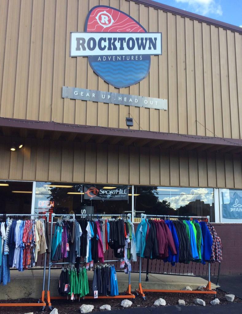 Rocktown Adventures   Inaugural Outdoor Gear Yard Sale