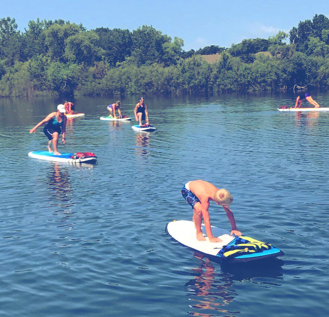 Rocktown Adventures | Stand-Up Paddleboard Yoga