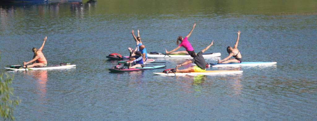 Stand-Up Paddleboard Yoga | Rocktown Adventures – Aurora