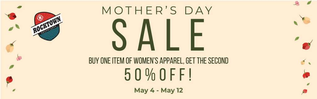 Rocktown Adventures | Mother's Day Sale 2019