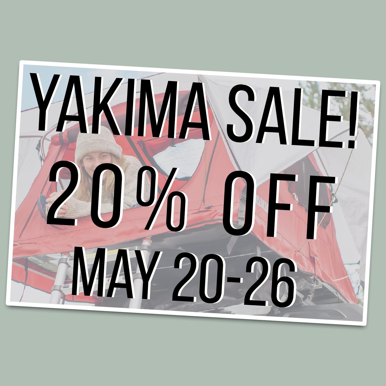 Rocktown Adventures   20% Off Yakima Sale
