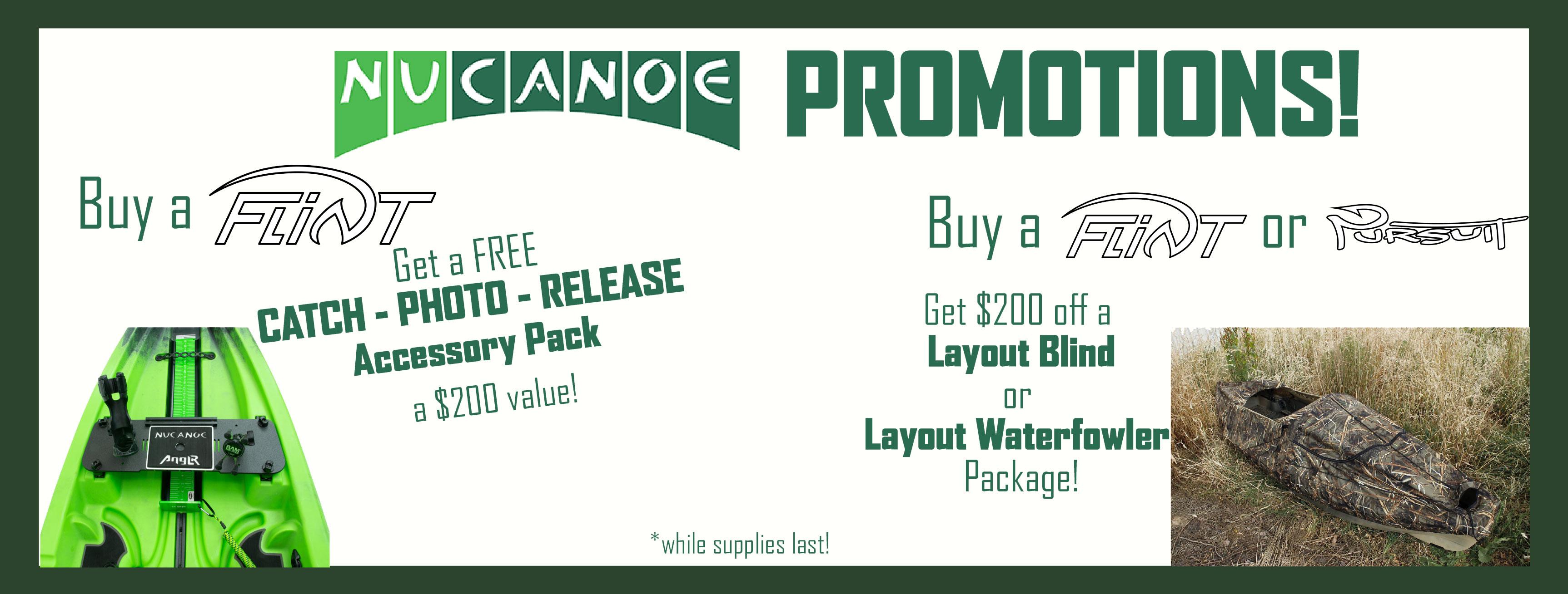 Nucanoe Promotions