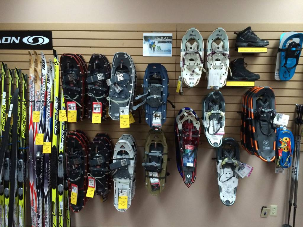 In-Store Snowsports Products | Rocktown Adventures