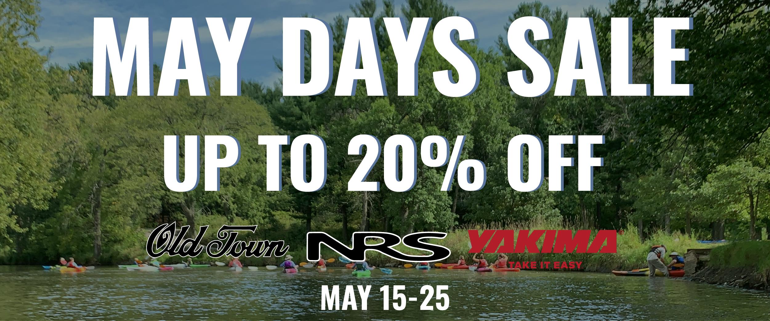 Rocktown Adventures   May Days Sale 2020