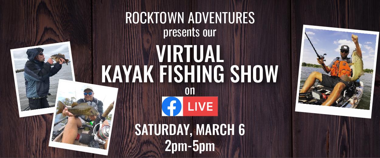 Rocktown Adventures | Virtual Kayak Fishing Show